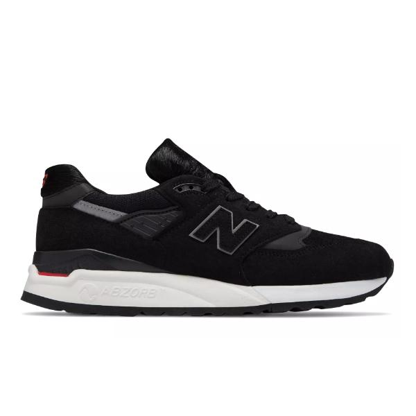 New Balance New Balance 998 'Made in US - Black / Red' SOLEHEAVEN