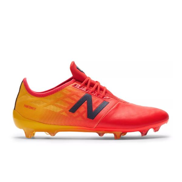 football boots New Balance Furon V4 Pro Leather FG 'Flame / Aztec Gold' SOLEHEAVEN