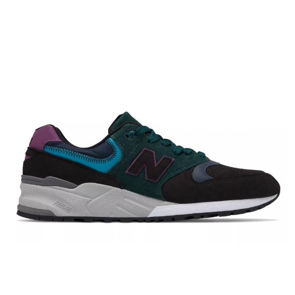 New Balance New Balance Made in the US 999 'Black / Teal' SOLEHEAVEN