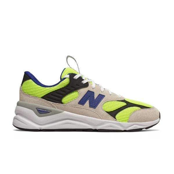 New Balance New Balance X-90 Reconstructed 'White / Bleached Lime Glo' SOLEHEAVEN