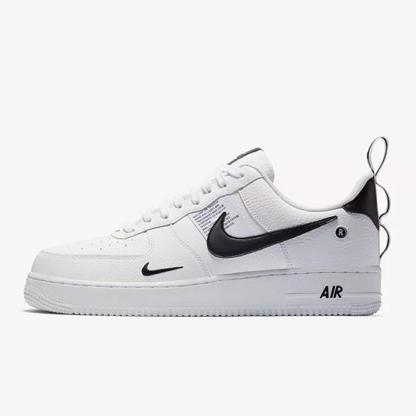 9512fc3df Nike Nike Air Force 1  07 LV8 Utility  White   Black  SOLEHEAVEN