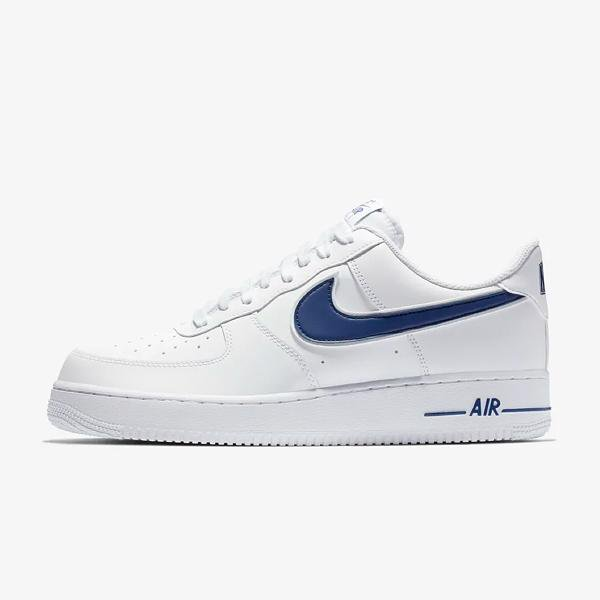 official photos c4366 b0a0c Nike Air Force 1 07  White   Deep Royal