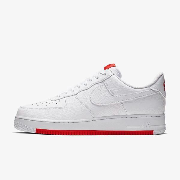 Nike Nike Air Force 1 '07 'White / Habanero' SOLEHEAVEN