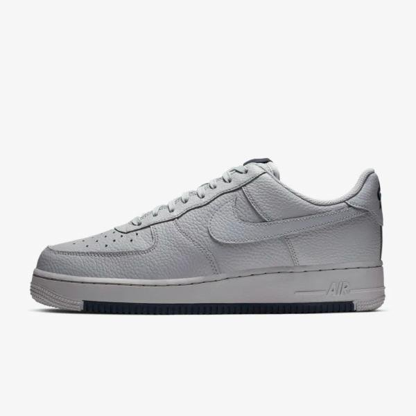 Nike Nike Air Force 1 '07 'Wolf Grey / Obsidian' SOLEHEAVEN