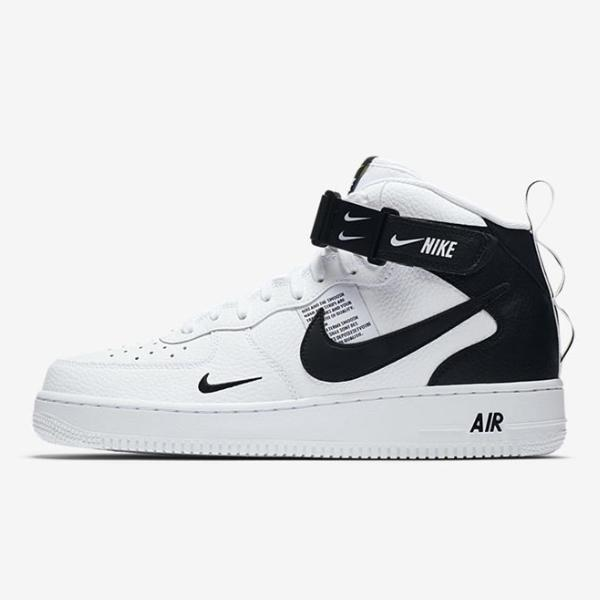 Nike Nike Air Force 1 Utility Mid '07 LV8 'White Black' at Soleheaven Curated Collections