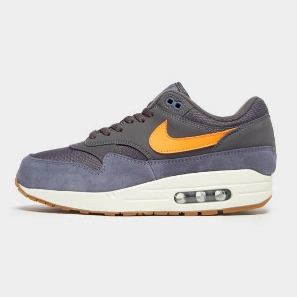 Nike Nike Air Max 1 Essential 'Anthracite / Total Orange' SOLEHEAVEN