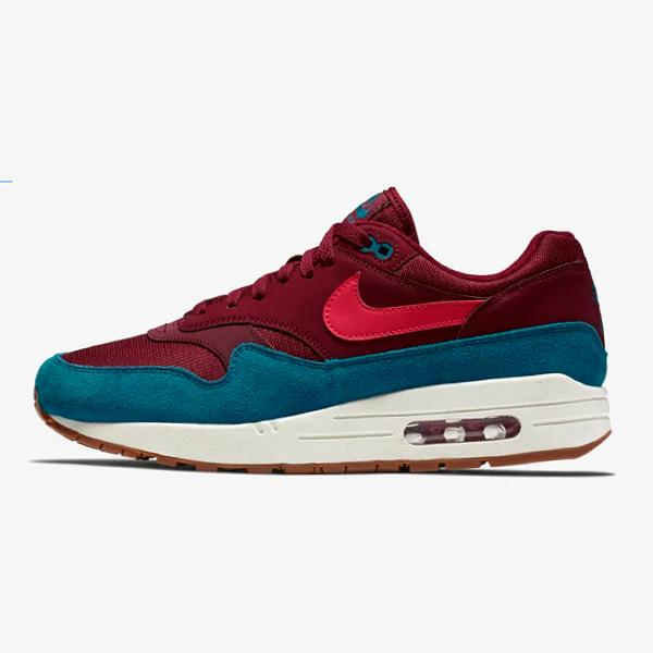 Nike Nike Air Max 1 'Team Red / Green Abyss' SOLEHEAVEN