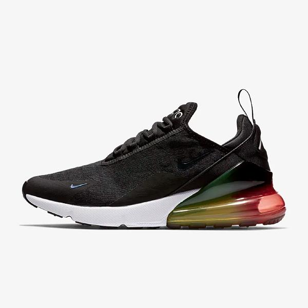 Nike Nike Air Max 270 'Black / Laser Orange' SOLEHEAVEN