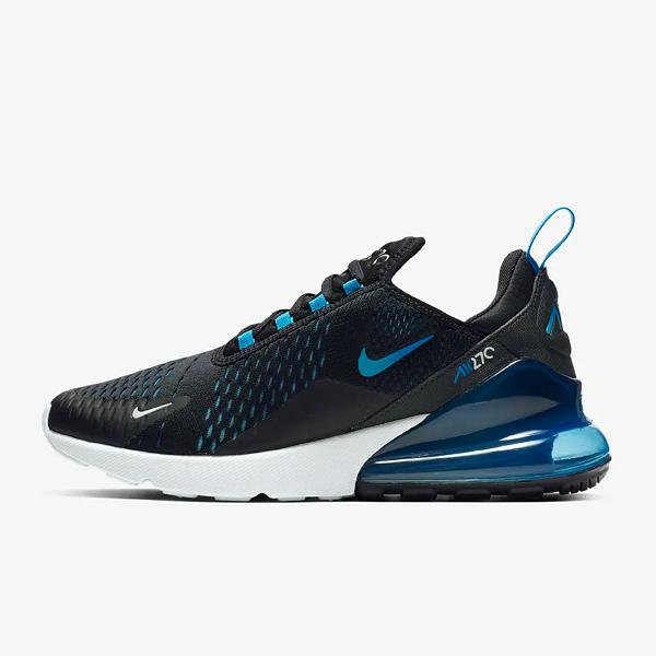 Nike Nike Air Max 270 'Black / Photo Blue' at Soleheaven Curated Collections