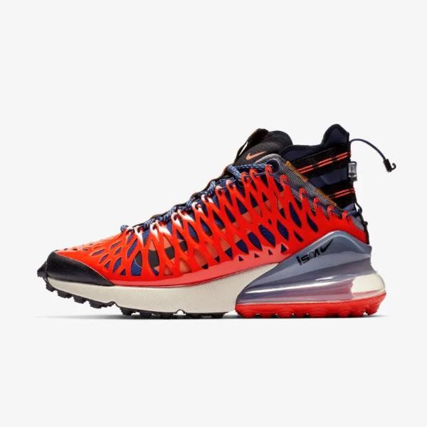 buy online 182ca 71aab Nike Air Max 270 ISPA  Blue Void   Terra Orange