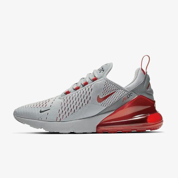outlet store 4beac fcca2 Nike Nike Air Max 270 'Wolf Grey / Ember Glow' at Soleheaven Curated  Collections