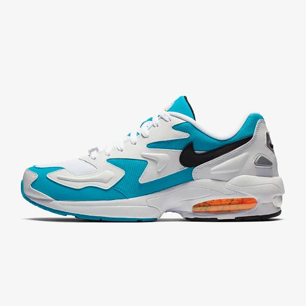 c8067fe11d1909 Nike Nike Air Max 2 Light  Blue Lagoon  at Soleheaven Curated Collections