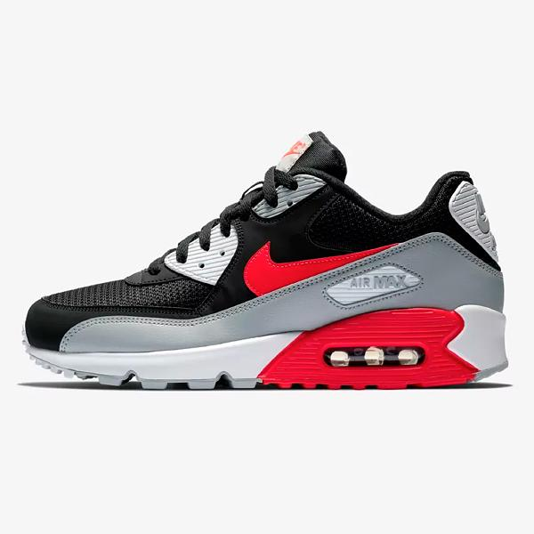 Nike Nike Air Max 90 Essential 'Black / Bright Crimson' SOLEHEAVEN