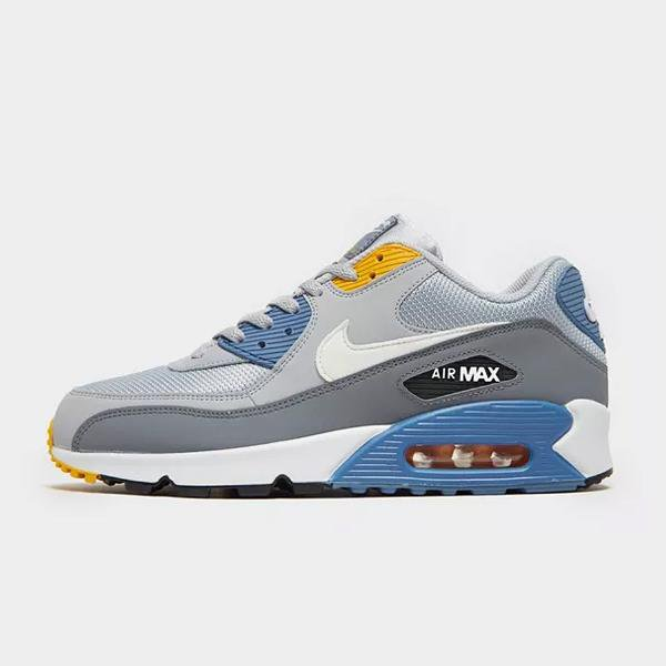 Nike Nike Air Max 90 Essential 'Grey / Blue' SOLEHEAVEN