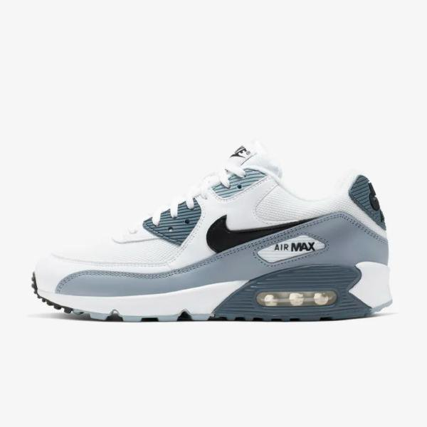 best service ec934 a0321 Nike Nike Air Max 90 Essential 'White / Obsidian' at Soleheaven Curated  Collections