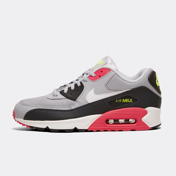 finest selection 3f9af 26aeb Nike Air Max 90 Essential  Wolf Grey   Pink