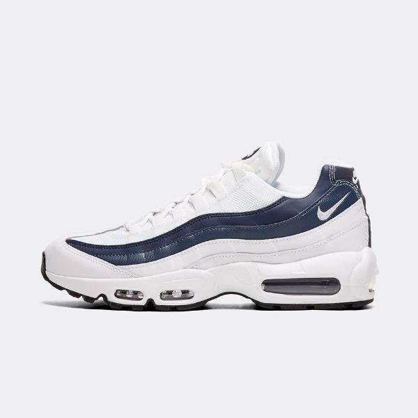 brand new 3c2bc 8744a Nike Air Max 95 Essential  White   Midnight Navy