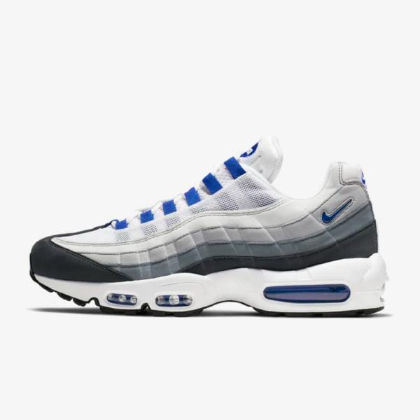 mar Mediterráneo Existe Tío o señor  Nike Nike Air Max 95 SC 'Wolf Grey / Racer Blue' at Soleheaven Curated  Collections