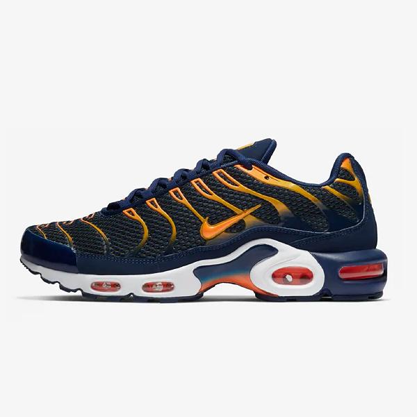sports shoes c5384 73208 Nike Nike Air Max Plus TN 'Blue Void / Total Orange' at Soleheaven Curated  Collections