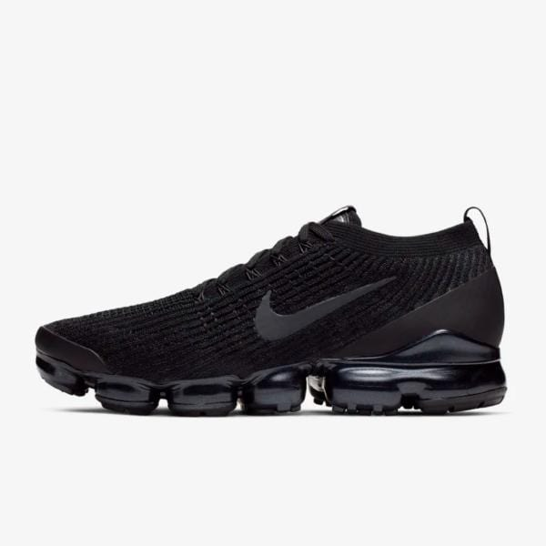 detailed look fca97 8555f Nike Nike Air Vapormax Flyknit 3  Triple Black  SOLEHEAVEN