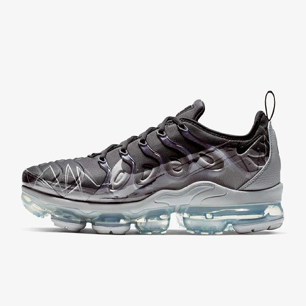 on sale 3afdf d5f6e Nike Air Vapormax Plus  Black   Wolf Grey