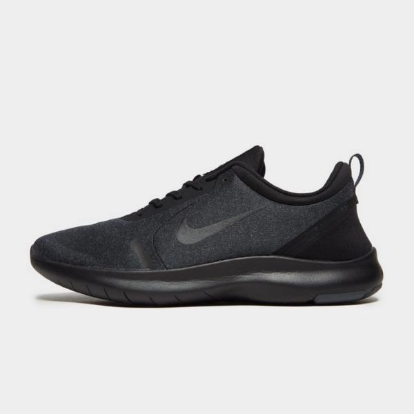 training shoes Nike Flex Experience RN 8 'Triple Black' SOLEHEAVEN