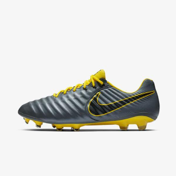 Nike Nike Legend 7 Elite 'Dark Grey / Opti Yellow' SOLEHEAVEN