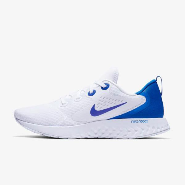 Nike Nike Legend React 'White / Blue' SOLEHEAVEN