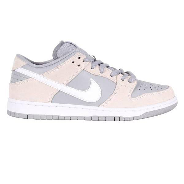pretty nice cdb2c 514ea Nike SB Dunk Low Skate Shoes - Summit White White Wolf Grey