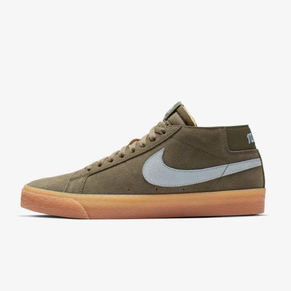 separation shoes 7ebfe 612ad Nike Nike SB Zoom Blazer Chukka  Medium Olive  SOLEHEAVEN