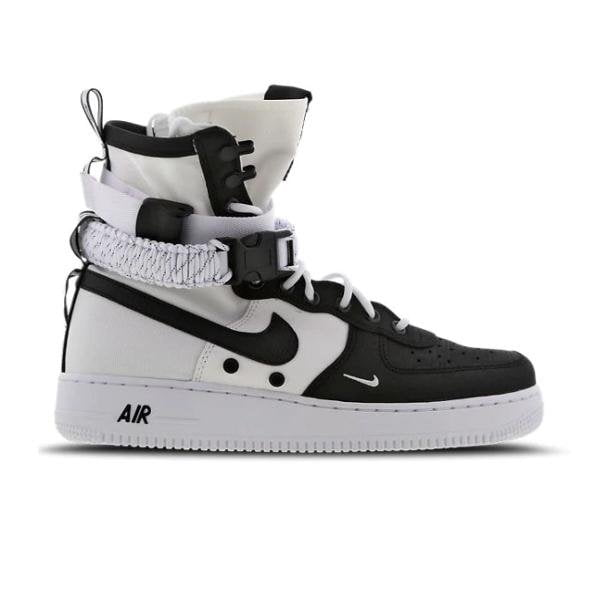 sale retailer 93377 b1601 Nike Nike SF Air Force 1 High 1.0  Black   White  SOLEHEAVEN