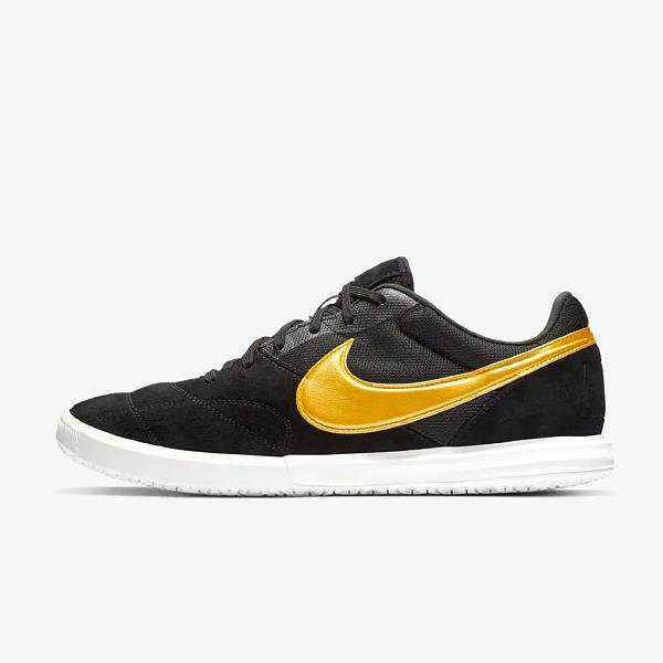 finest selection b87dc 510e4 Nike Nike Tiempo Premier II Sala 'Black/Gold' at Soleheaven Curated  Collections