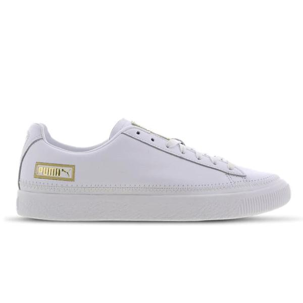 Puma Puma Basket Stitch 'White / Gold' SOLEHEAVEN