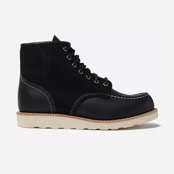 "Red Wing Shoes Red Wing 08818 Two Tone 6"" Moc Toe Boot SOLEHEAVEN"