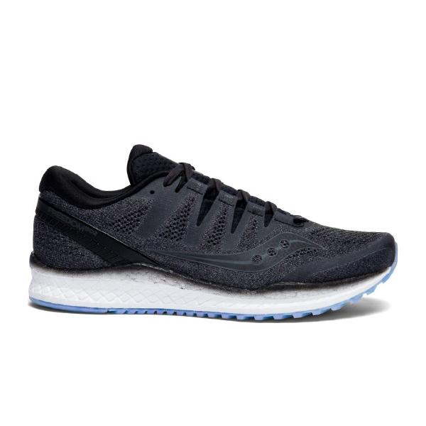 running trainers Saucony Freedom ISO 2 'Black' SOLEHEAVEN
