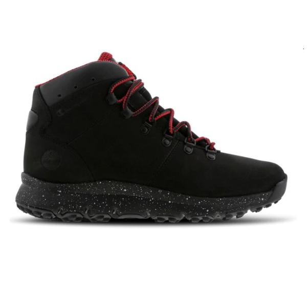 53f5156e0ab820 Timberland Timberland x Champion World Hiker  Black   Red  SOLEHEAVEN