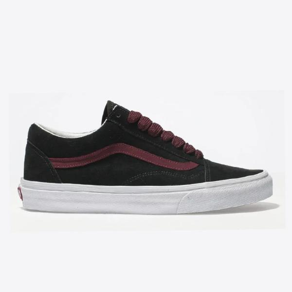 b5455a2762 Vans Vans Old Skool  Black   Burgundy  at Soleheaven Curated Collections