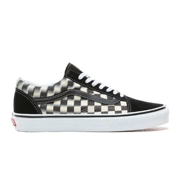 Vans Vans Old Skool Blur Check 'Black / White' SOLEHEAVEN