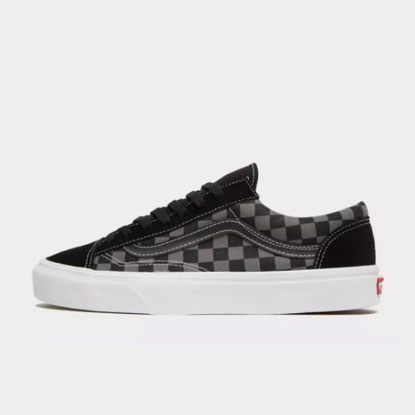 Vans Vans Old Skool Checkerboard 'Black' SOLEHEAVEN