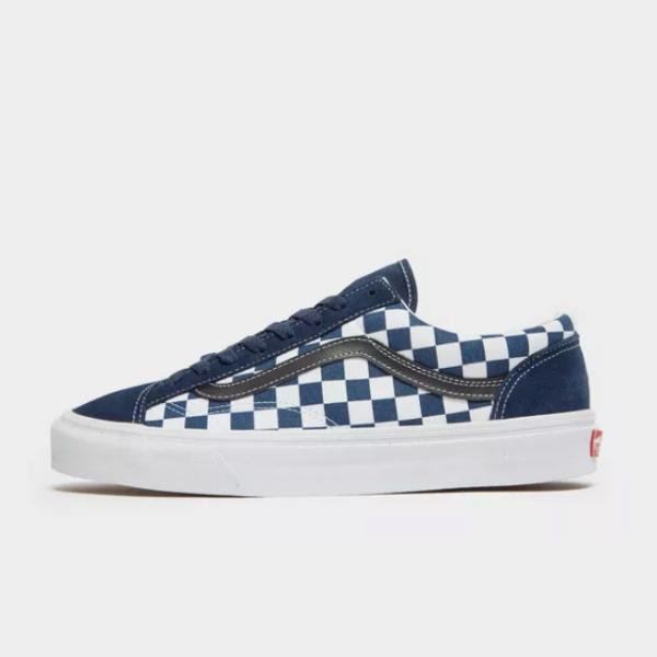 Vans Vans Old Skool Checkerboard 'Blue' SOLEHEAVEN