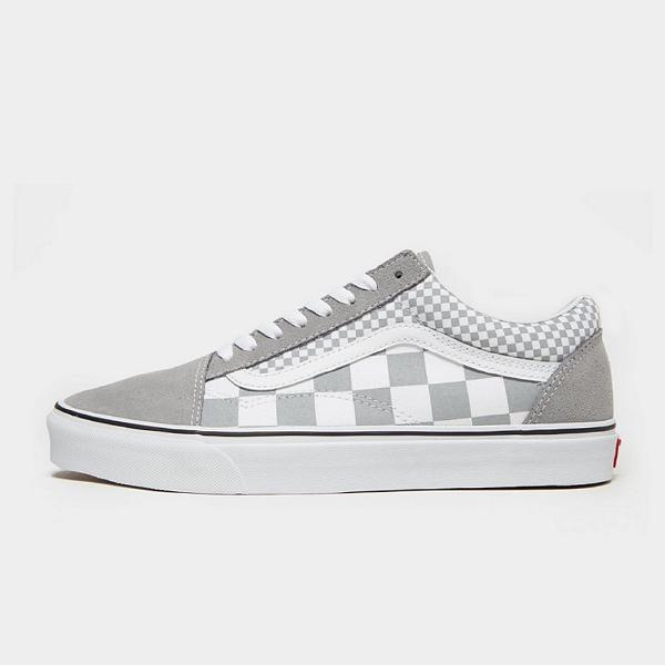 Vans shoes Vans Old Skool 'Grey Checkerboard' SOLEHEAVEN