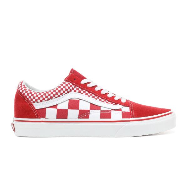 7c685da49a4 Vans Vans Old Skool Mix Checker  Red   White  at Soleheaven Curated ...