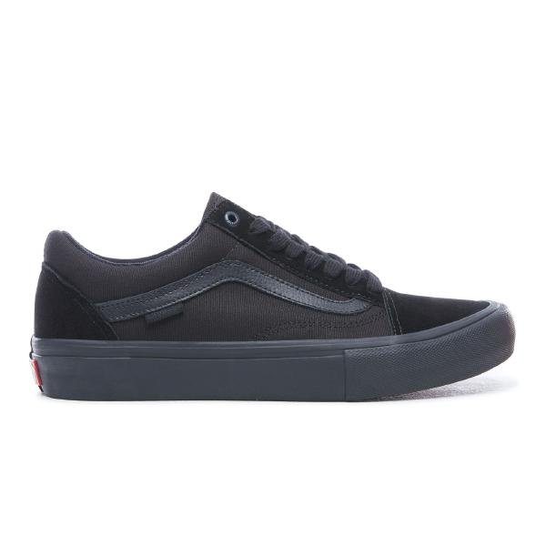 Vans Vans Old Skool Pro 'Triple Black' SOLEHEAVEN
