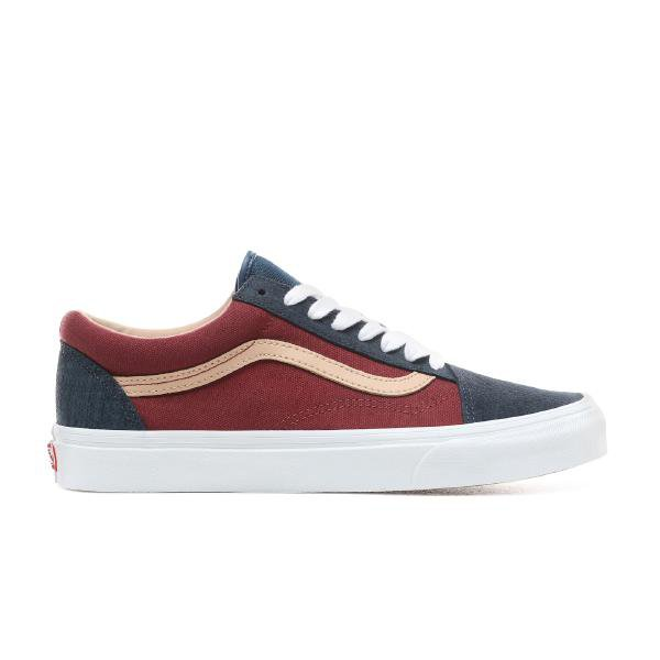Vans Vans Old Skool Textured Suede 'Blue / Port' SOLEHEAVEN