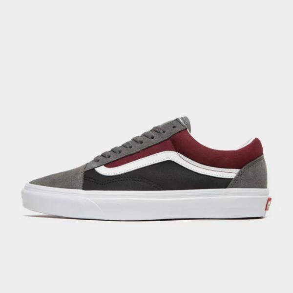 Vans Vans Old Skool Two Tone 'Grey / Red' SOLEHEAVEN
