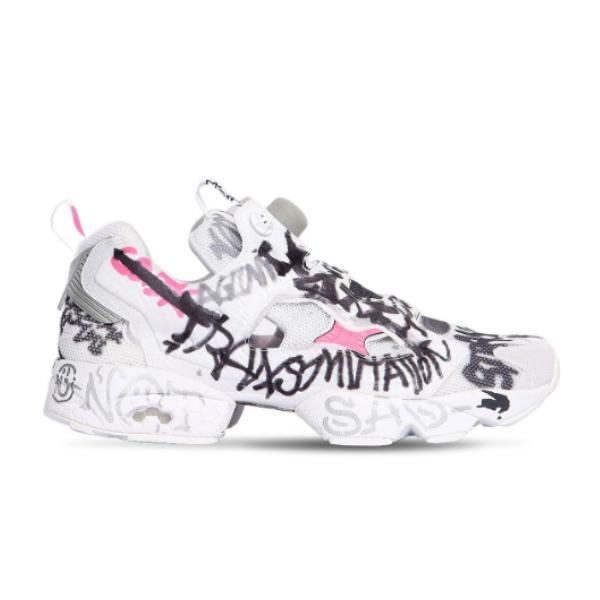 Reebok Vetements Instagram Graffiti Fury 'White' SOLEHEAVEN