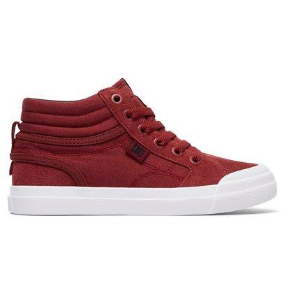 DC Shoes Evan Hi - High-Top Shoes for Boys - Red - DC Shoes SOLEHEAVEN