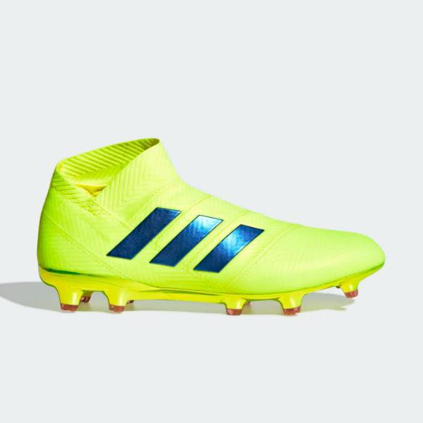 adidas adidas Nemeziz 18+ Firm Ground 'Solar Yellow' SOLEHEAVEN