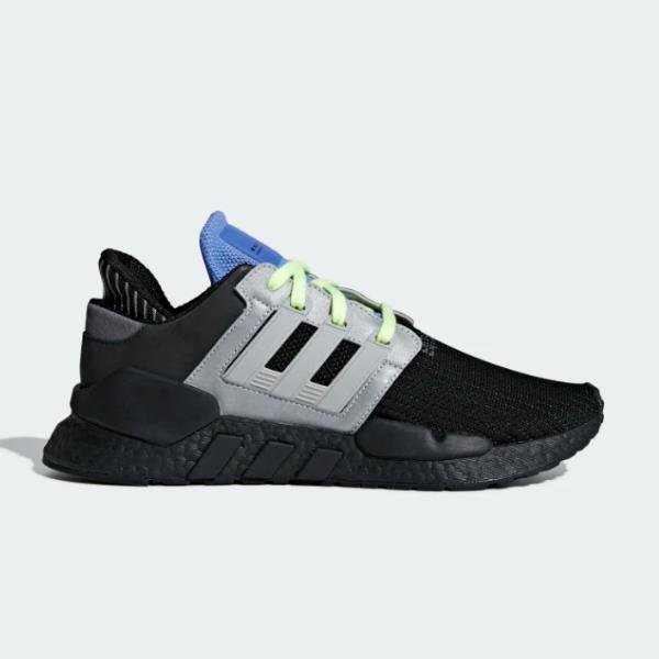 adidas adidas Originals EQT Support 91/18 'Black / Grey' SOLEHEAVEN