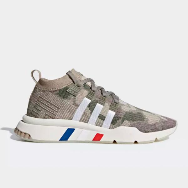 watch ce21d fdd3c adidas adidas Originals EQT Support Mid ADV Primeknit 'Trace Khaki' at  Soleheaven Curated Collections